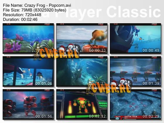 Crazy Frog скачать торрент клипы - фото 2