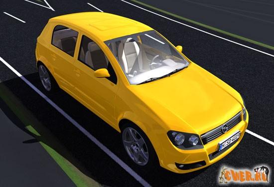 3D-модель Opel Astra
