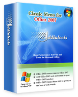 Classic Menu for Office 2007 v3.9.0.10