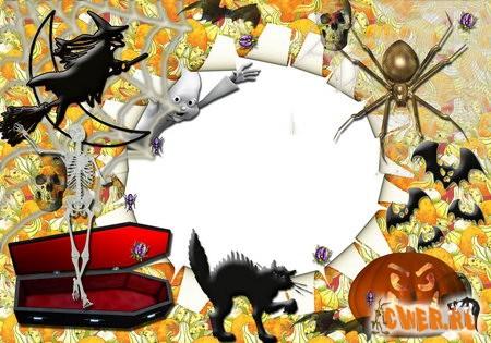 Рамочка на Хэллоуин