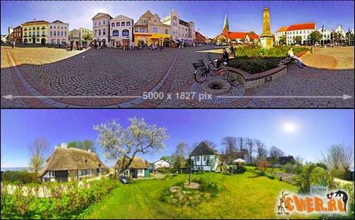 360°-ные панорамы