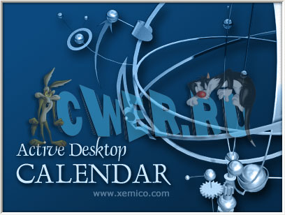 Active Desktop Calendar v7.45.080307