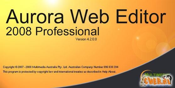 Aurora Web Editor 2008 Professional 4.2.0.0