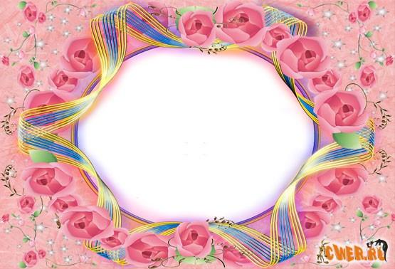 Цветочная рамка
