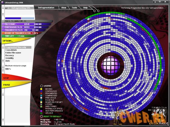 DiskTrix UltimateDefrag 2008 v2.0.0.47