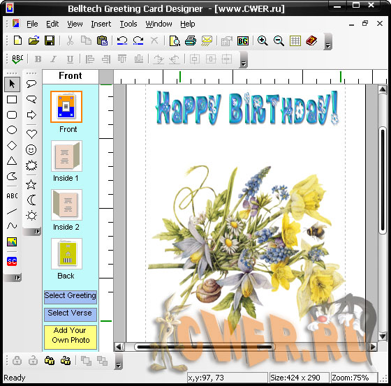 Belltech Greeting Cards Designer v5