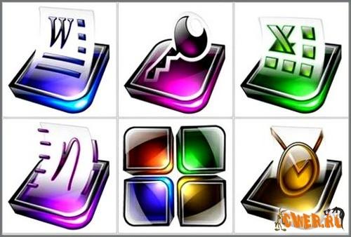 Digital Office Icons