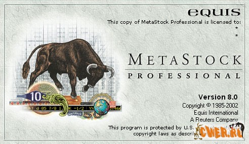 MetaStock Professional 8.0 RT