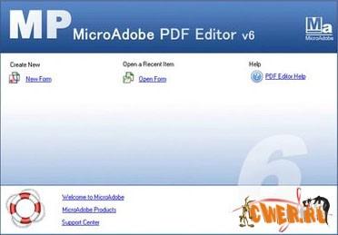 MicroAdobe PDF Editor 6.2