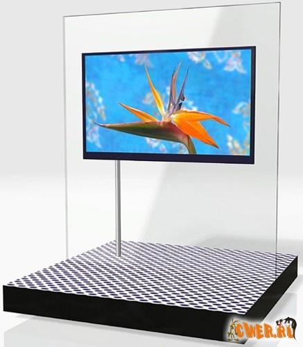 52-дюймовый телевизор будущего от Sharp