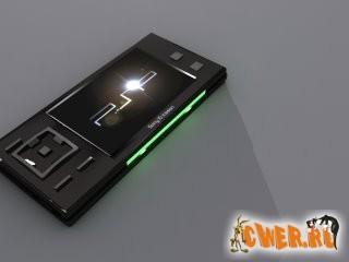 Sony Ericsson выпустил PS1i - концепт игрового телефона