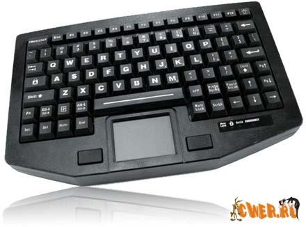 Мобильная клавиатура iKey не боится ударов и воды