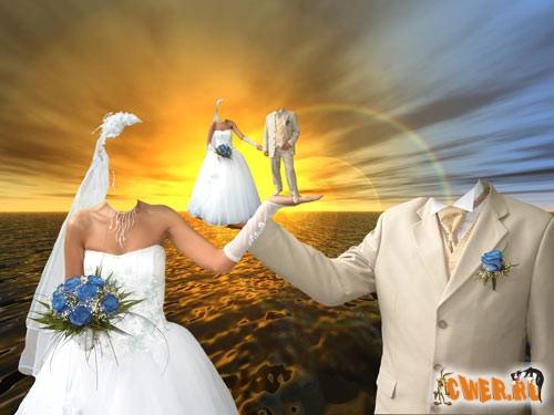 Красивый свадебный шаблон