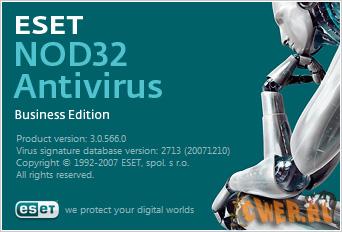 ESET NOD32 Antivirus Business Edition v3.0.566.0