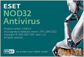 ESET NOD32 Antivirus Home Edition 3.0.621 Final