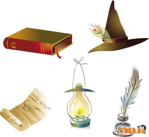 Сказочные объекты для Illustrator