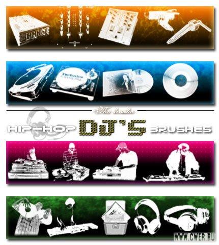 DJ brushes