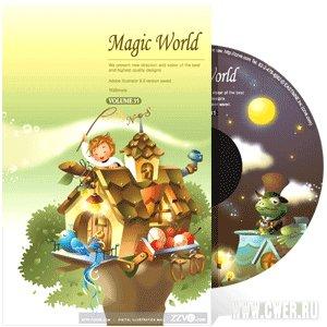Векторный клипарт Magic World
