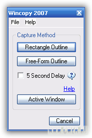Wincopy Screen Capture 2007