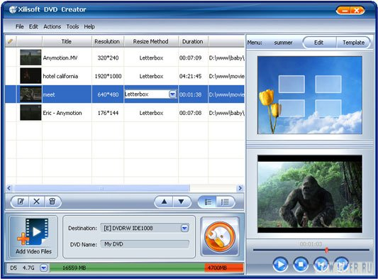 Xilisoft DVD Creator 3.0.30.0713
