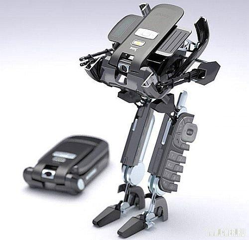 Мобильник-трансформер