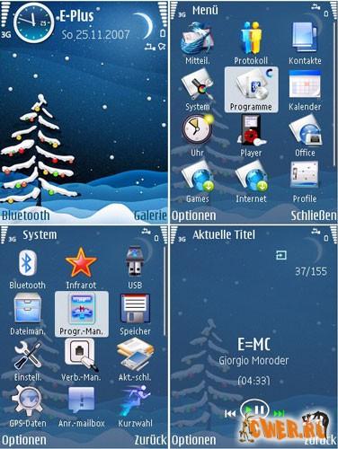 Holyday - тема для Symbian 9
