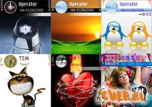 Темы для Nokia на базе Symbian 9.1
