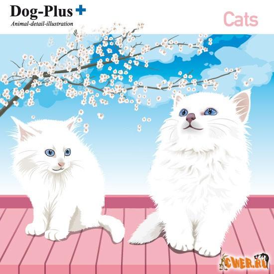 Векторный клипарт от DogPlus - Кошки