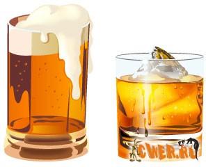 Векторник клипарт - Напитки