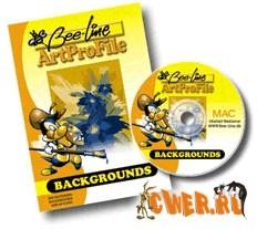 Векторный клипарт - Bee-Line Colour Background