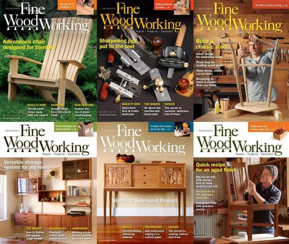 Fine Woodworking №272-278 January-December 2019 Подшивка 2019 Архив 2019