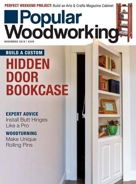 Popular Woodworking №249 November ноябрь 2019