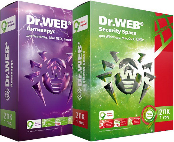 Dr.Web Security Space & Anti-Virus 11