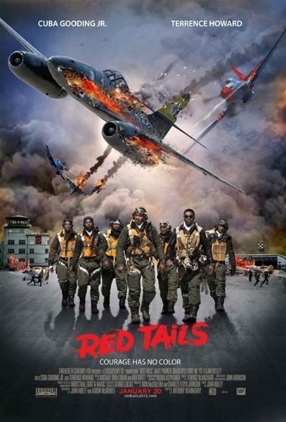 Красные xвосты (2012) DVDRip