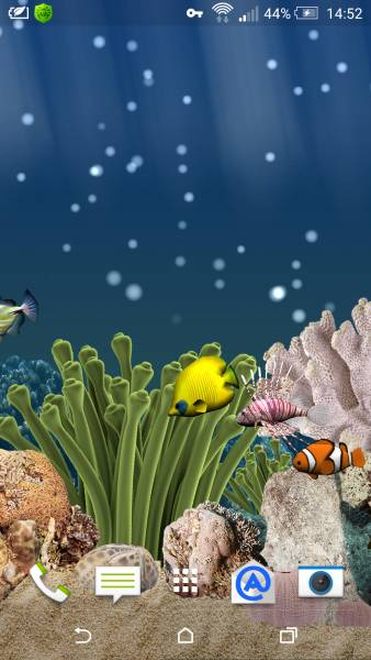 Aquarium 3D Live Wallpaper Pro