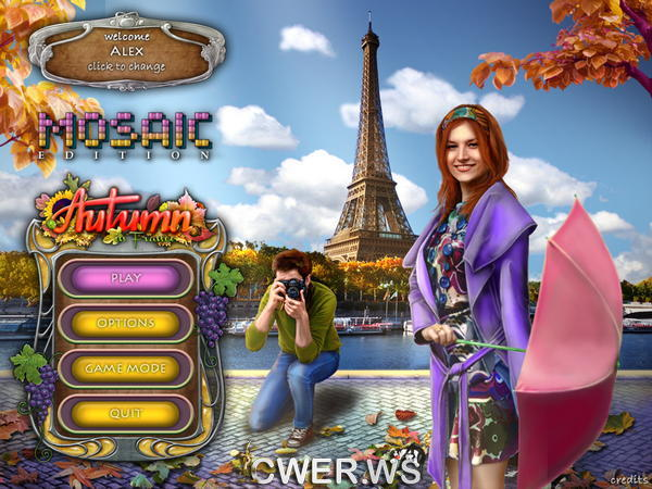 скриншот игры Autumn in France Mosaic Edition