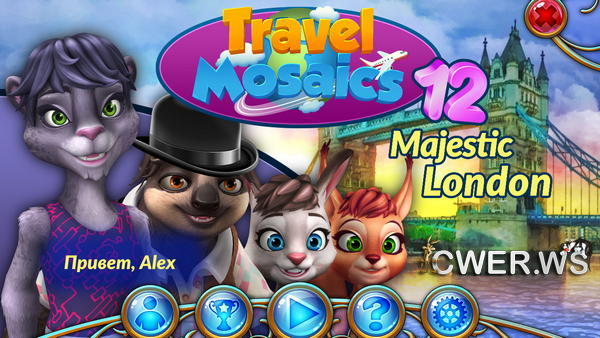 скриншот игры Travel Mosaics 12: Majestic London