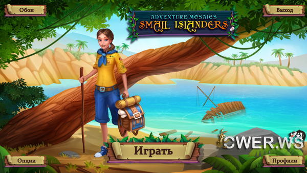 скриншот игры Adventure Mosaics 2: Small Islanders