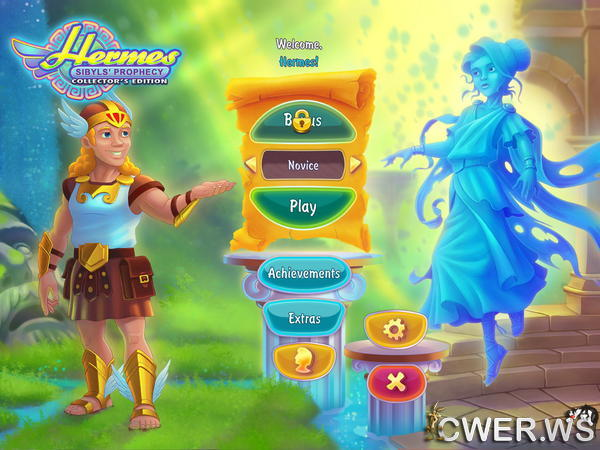 скриншот игры Hermes 3: Sibyls' Prophecy Collector's Edition