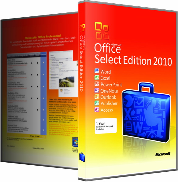 Microsoft Office 2010 SP2 Select Edition